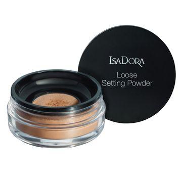 Isadora Loose Setting Powder 07 Deep, Löspuder