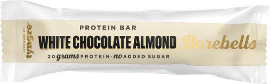 Barebells Protein Bar White Chocolate Almond STORPACK Proteinbar. 55 g. 12 st