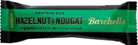 Barebells Protein Bar Hazelnut & Nougat STORPACK Proteinbar. 55 g. 12 st