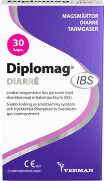 Diplomag IBS Diarré Kapsel, 30 st