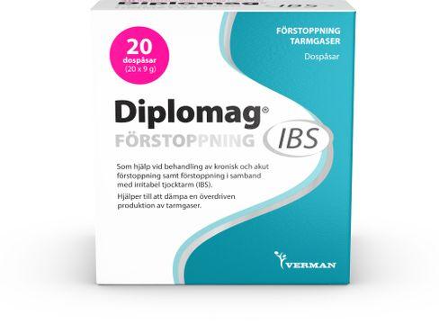 Diplomag IBS Förstoppning Dospåse, 20 st