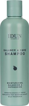 IDUN Minerals Balance & Care Shampoo Schampo. 250 ml.