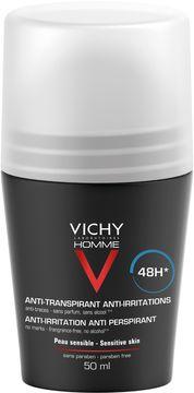 Vichy Homme Deo Roll-on Deodorant, 50 ml