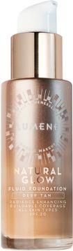 Lumene Natural Glow Fluid Foundation, Deep Tan. 30 ml.