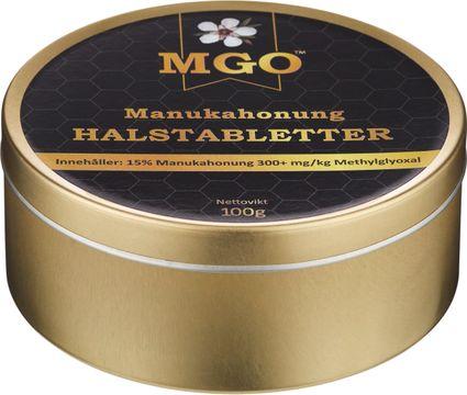 MGO Manukahonung Halstabletter Halstabletter, 100 g
