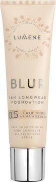 Lumene Blur 16h Longwear Foundation. 0.5 Fair Nude. 30 ml.