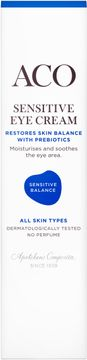 ACO Sensitive Balance Eye Cream Ögonkräm, 15 ml