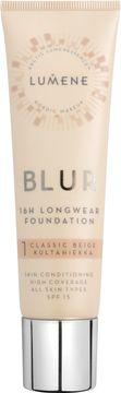 Lumene Blur 16h Longwear Foundation. 1 Classic Beige. 30 ml.