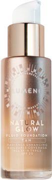 Lumene Natural Glow Fluid Foundation, Tan. 30 ml.
