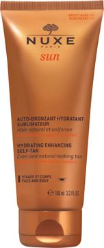 Nuxe Silky Self-Tanning Lotion Sun. Brun-utan-sol för ansikte och kropp. 100 ml