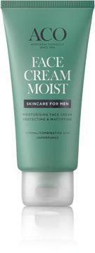 ACO For Men Face Cream Moist Ansiktskräm, 60 ml