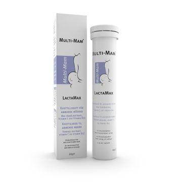 Multi-Mam LactaMax Kosttillskott vid amning. 20 tabletter.