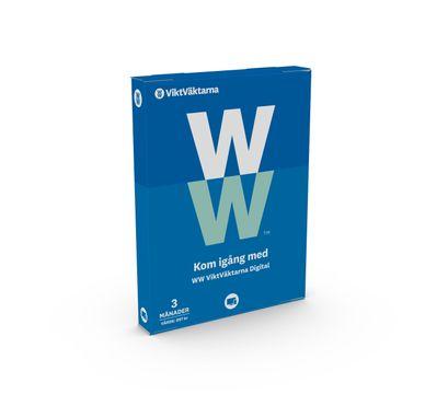 WW ViktVäktarna Digital 3 månader