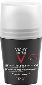 Vichy Homme 72H Anti Perspirant Deodorant, 50 ml