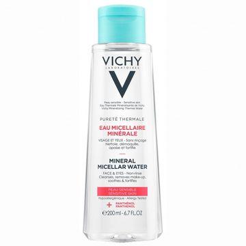 Vichy Purete Mineral Micellar Sensitive Skin Ansiktsrengöring, 200 ml