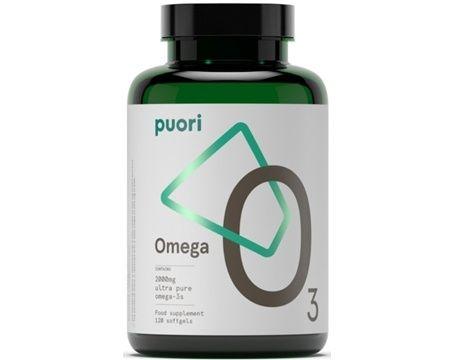 Puori O3 Omega-3 120 kapslar