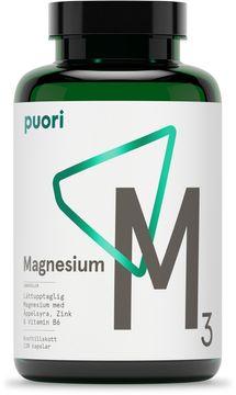 Puori M3 Magnesium Kosttillskott. 120 st