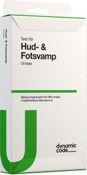 Dynamic Code Hud- & Fotsvamp Test med självprovtagning, 1 st