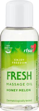 RFSU Fresh Massageolja, 100 ml