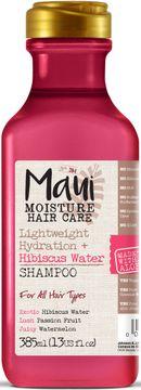 Maui Moisture Hibiscus Water Shampoo Återfuktande viktlöst schampo. 385 ml