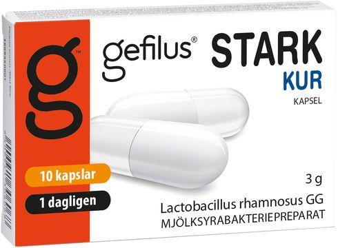 Gefilus Stark Kapsel, 10 st