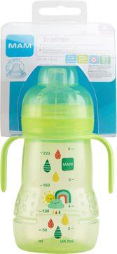 MAM Trainer 220 ml. Flaska med drickpip. 1 st.