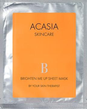 Acasia Skincare Brighten Me Up Sheet Mask 23 Ml