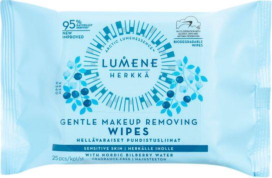 Lumene HERKKÄ Gentle Makeup Removing Wipes 25 st