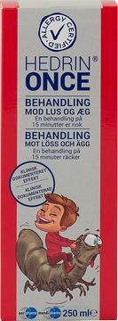 Hedrin Once Lusmedel 250 ml