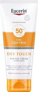 Eucerin Sun Gel-Cream Dry Touch SPF 50+ Solskydd, 200 ml