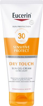 Eucerin Sun Gel-Cream Dry Touch SPF 30 Solskydd, 200 ml