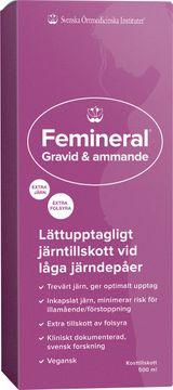 Femineral Femineral Gravid & Ammande Flytande järn och mineraltillskott 500 ml