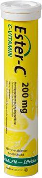 Ester-C C-vitamin 200 mg 20 brustabletter