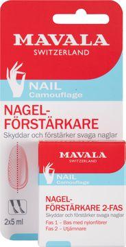 Mavala Nagelförstärkare 2-Fas (kort) 2x5 ml