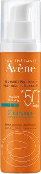 Avène CLEANANCE Suncare spf 50+ 50 ml