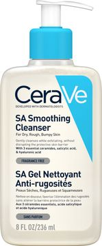 CeraVe SA Smoothing Cleanser Ansiktsrengöring, 236 ml