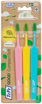 TePe GOOD Compact Soft Tandborste. 3 st
