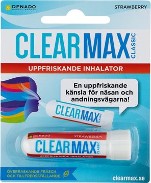 ClearMax Classic Strawberry Inhalator, 1 st