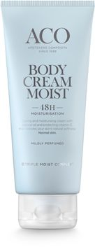 ACO Body Cream Moist Hudkräm, Parfymerad, 200 ml