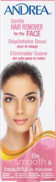 Andrea Gentle Hair Remover Face Hårborttagningskräm ansikte. 56 g
