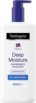 Neutrogena Norwegian Formula Deep Moisture Hypoallergenic Lotion Hudkräm, 400 ml