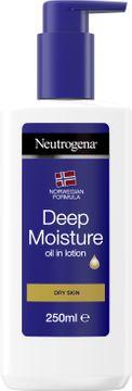 Neutrogena Clear & Soothe Oil in Lotion Hudkräm, 250 ml