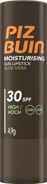 Piz Buin Sun Lipstick Aloe Vera SPF 30 Solskydd, 4.9 g