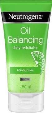 Neutrogena Oil balancing Daily Exfoliator Ansiktsskrubb, 150 ml