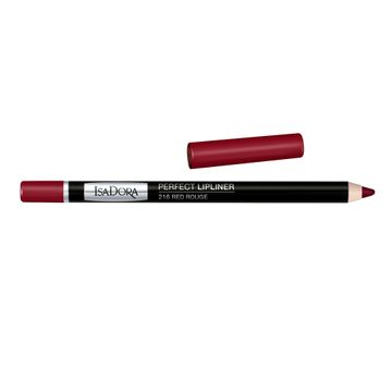 Isadora Perfect Lipliner 16 Red Rouge, Läppenna