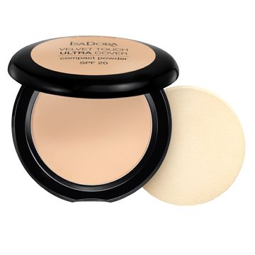 Isadora Velvet Touch Ultra Cover Compact Powder 61 Neutral Ivory, Puder