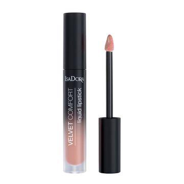 Isadora Velvet Comfort Liquid Lipstick Nude Blush