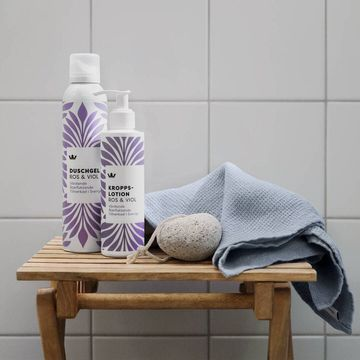 Kronans Kroppslotion Ros & Viol Vårdande och återfuktande hudkräm. 200 ml