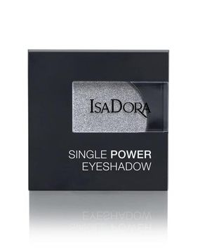 Isadora Single Powder Eyeshadow 11 Silver Chrome