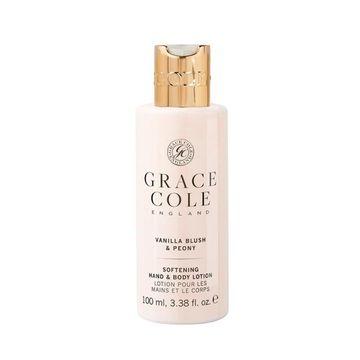 Grace & Cole Vanilla Blush and Peony Softening hand and body lotion 100 ml
